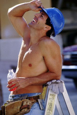 Sexy construction guy