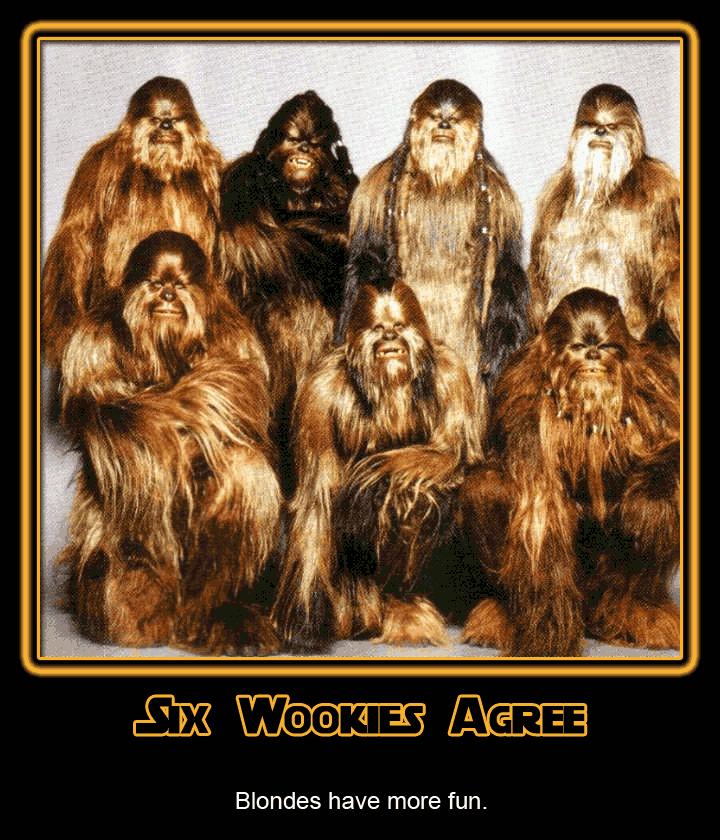 Six wookies
