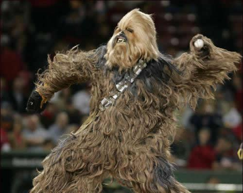 Chewbacca pitching