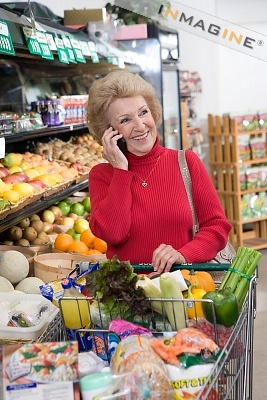 Supermarket phone