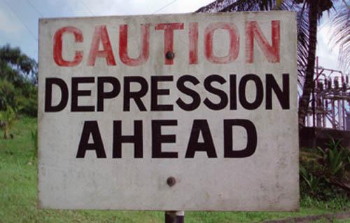 Cautiondepression