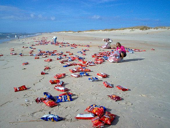 Dorito beach